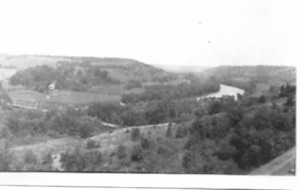 View of the Country near the Latta house on Indiana Street, Des Moines, circa 1920