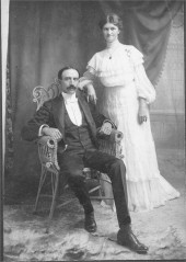 Lee and Elisabeth Smith Latta, circa 1915